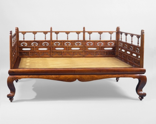 Antique Chinese couch bed
