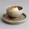 A Quiet Yue Bowl And Plate