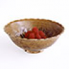 A Rustic Brown Glazed Bowl